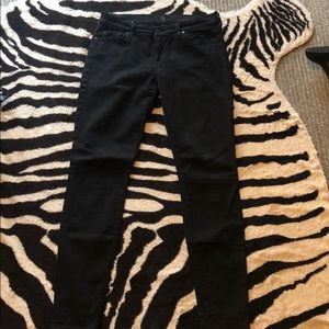 7 for all mankind skinny jeans - barely worn!